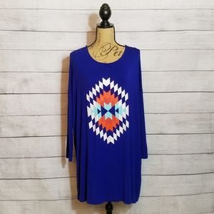 Crazy Train | Southwest Tunic